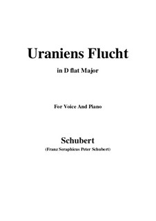 Uraniens Flucht (Urania's Flight), D.554: D flat Major by Франц Шуберт