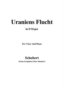 Uraniens Flucht (Urania's Flight), D.554: D Major by Франц Шуберт