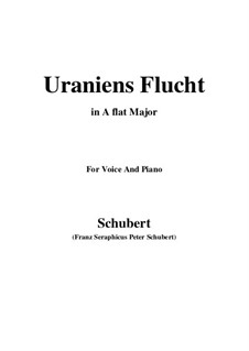 Uraniens Flucht (Urania's Flight), D.554: A flat Major by Франц Шуберт
