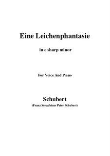 Eine Leichenphantasie, D.7: C sharp minor by Франц Шуберт