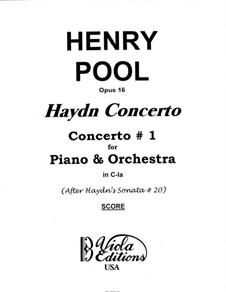 Соната  для фортепиано No.33 до минор, Hob.XVI/20: Версия для фортепиано с оркестром, Op.16 by Йозеф Гайдн
