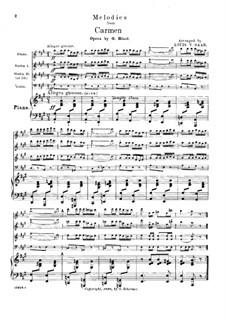 Избранные темы: Для квинтета by Жорж Бизе