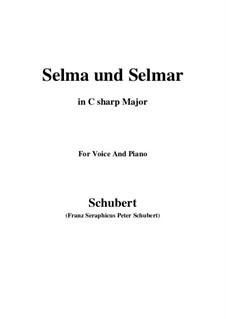 Сельма и Сельмар, D.286: C sharp Major by Франц Шуберт