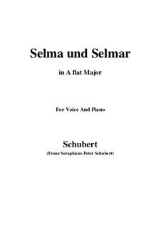 Сельма и Сельмар, D.286: A flat Major by Франц Шуберт