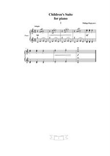 Детская сюита, Op.25: Детская сюита by Филипп Дегтярев