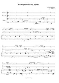 Благословений потоки: Для двух скрипок и фортепиано by Джеймс  Макгранан
