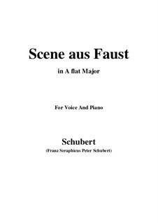 Сцена из 'Фауста', D.126: A flat Major by Франц Шуберт