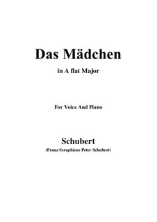 Das Mädchen (The Maiden), D.652: A flat Major by Франц Шуберт