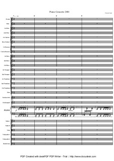 Piano Concerto (Aera Dementia), Op.1: Piano Concerto (Aera Dementia) by Keith Perreur-Lloyd