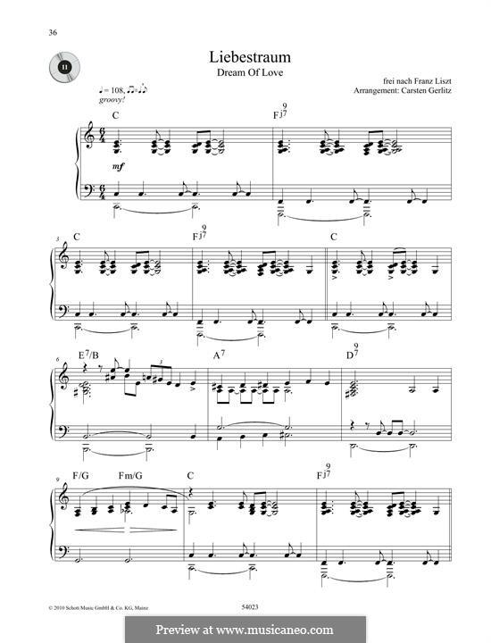 Ноктюрн No.3: Для фортепиано by Франц Лист