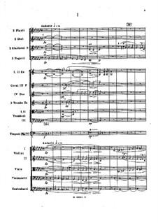 Симфония No.1 ми минор, Op.1: Партитура by Николай Римский-Корсаков