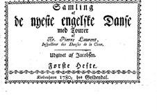Samling af de nyeste engelske Danse: Samling af de nyeste engelske Danse by Ганс Хинрих Якобсен