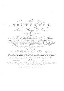 Три ноктюрна для арфы и валторны (или скрипки), Op.32: Три ноктюрна для арфы и валторны (или скрипки) by Франсуа-Жозеф Надерман