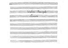 Концерт для скрипки с оркестром, BI 508: Концерт для скрипки с оркестром by Алессандро Ролла