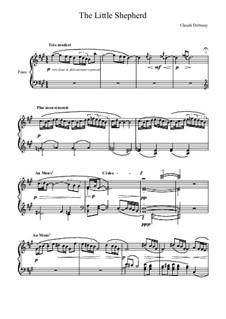 No.5 Маленький пастушок: Для фортепиано by Клод Дебюсси