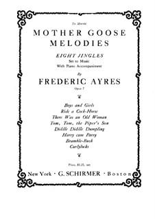 Мелодии матушки Гусыни для голоса и фортепиано, Op.7: Мелодии матушки Гусыни для голоса и фортепиано by Frederic Ayres