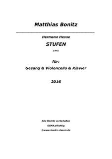 Stufen: Soprano, Cello und Klavier by Matthias Bonitz