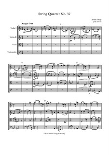 String Quartet No.37: String Quartet No.37 by Jordan Grigg
