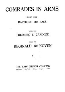 Comrades in Arms: Comrades in Arms by Reginald De Koven