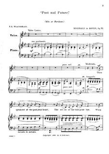 Past and Future, Op.72: Си-бемоль мажор by Reginald De Koven