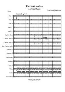 No.5 Арабский танец: For full orchestra by Петр Чайковский