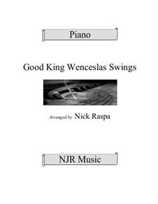 King Wenceslas Swings: Adv int piano by Thomas Helmore