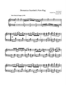 Domenico Scarlatti's New Rag: Domenico Scarlatti's New Rag by Scott Powell