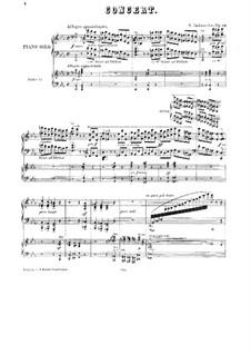 Концерт для фортепиано с оркестром No.1 до минор, Op.89: Переложение для двух фортепиано в четыре руки by Саломон Ядассон