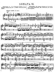 Соната для фортепиано No.2 фа мажор, K.280: Для одного исполнителя by Вольфганг Амадей Моцарт