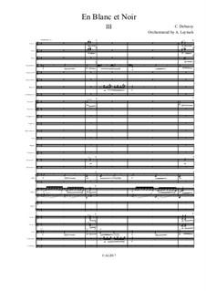 По белым и черным, L.134: For symphonic orchestra – 3rd movement by Клод Дебюсси