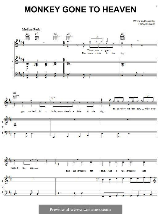 Monkey Gone To Heaven (Pixies): Monkey Gone To Heaven (Pixies) by Francis Black