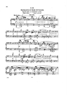 Костюмированный бал, Op.103: No.19-20 by Антон Рубинштейн