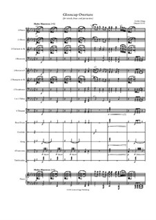Glooscap Overture (for winds, brass and percussion): Glooscap Overture (for winds, brass and percussion) by Jordan Grigg