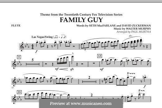 Theme from Family Guy: Партия флейты by David Zuckerman, Seth MacFarlane, Walter Murphy