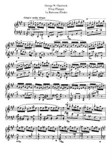 Пять пьес, F.43: Le Ruisseau by Джордж Уайтфилд Чедуик