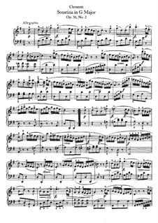 Сонатина No.2: Для фортепиано by Муцио Клементи