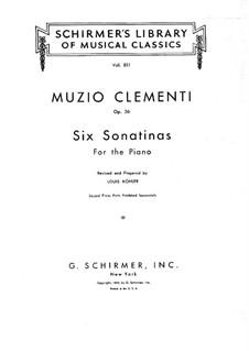 Весь сборник : Для фортепиано by Муцио Клементи
