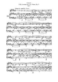 Для низкого голоса: No.26-50 Тетрадь II by Джузеппе Конконе