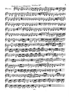 Тема с вариациями для струнного трио, Op.3: Скрипка II by Nicolas Baldenecker