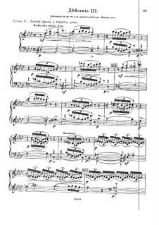 Избранные молитвословия всенощного бдения, Op.43: Акт III – клавир с вокальной партией by Михаил Ипполитов-Иванов
