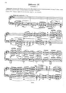 Избранные молитвословия всенощного бдения, Op.43: Акт IV – клавир с вокальной партией by Михаил Ипполитов-Иванов