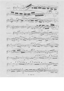 Фортепианное трио No.4, Op.84: Партия скрипки by Фридрих Калькбреннер