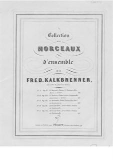 Фортепианное трио No.4, Op.84: Партия фортепиано by Фридрих Калькбреннер