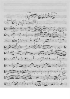 Фортепианное трио No.4, Op.84: Партия альта by Фридрих Калькбреннер