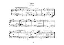 Менуэт фа мажор: Для клавесина by Иоганн Себастьян Бах