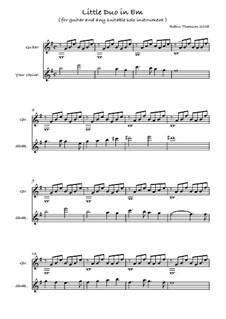 Little Duo in E Minor: Little Duo in E Minor by Robin Thomson