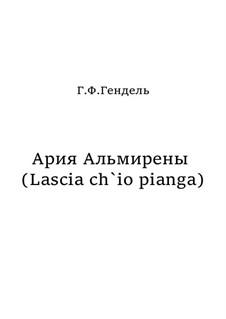 Дайте мне слезы: Для голоса и камерного оркестра by Георг Фридрих Гендель