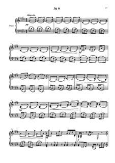 24 прелюдии и фуги для фортепиано: No.9 by Владимир Полионный