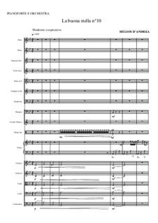 La buona stella No.10: La buona stella No.10 by Helios D'Andrea