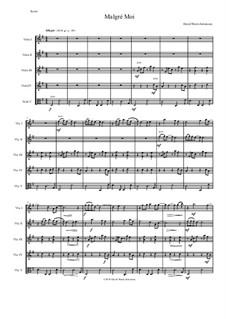 Malgré Moi: For 5 violas by Дэвид Соломонс